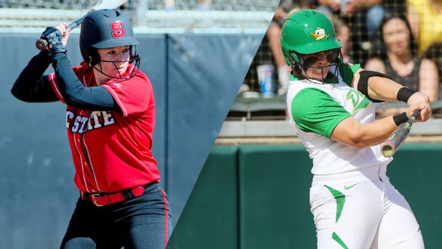 North Carolina State vs. #2 Oregon (Site 5 / Game 1) (NCAA Softball Championship)