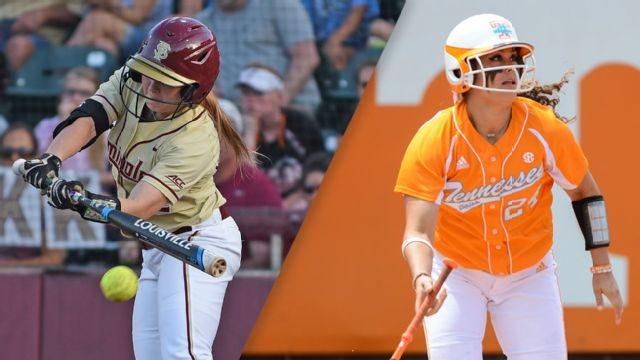 #9 Florida State vs. #8 Tennessee (Site 1 / Game 3) (NCAA Softball Championship) (re-air)