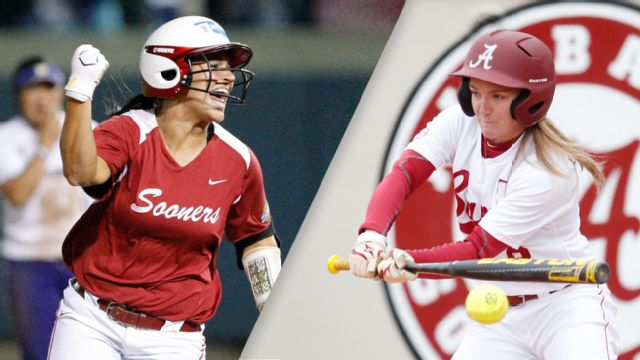 #11 Oklahoma vs. #6 Alabama (Site 4 / Game 1) (NCAA Softball Championship)