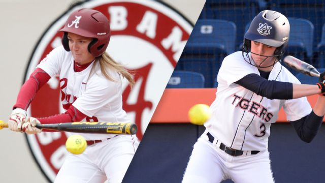 #7 Alabama vs. #6 Auburn (Softball) (re-air)