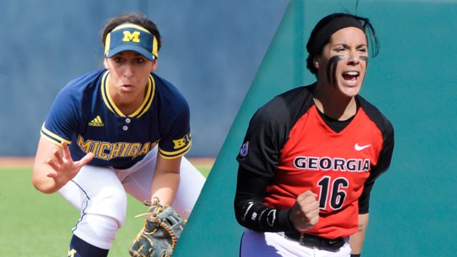#3 Michigan vs. #14 Georgia (Site 2 / Game 2) (NCAA Softball Championship)