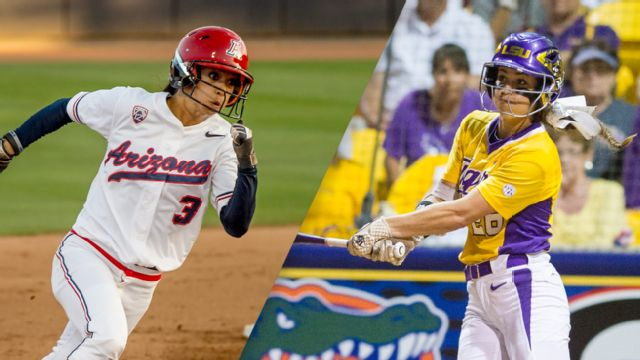#12 Arizona vs. #5 LSU (Site 8 / Game 1) (NCAA Softball Championship) (re-air)