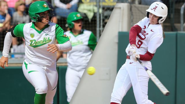 #2 Oregon vs. #6 Alabama (Game #8) (Women's College World Series)