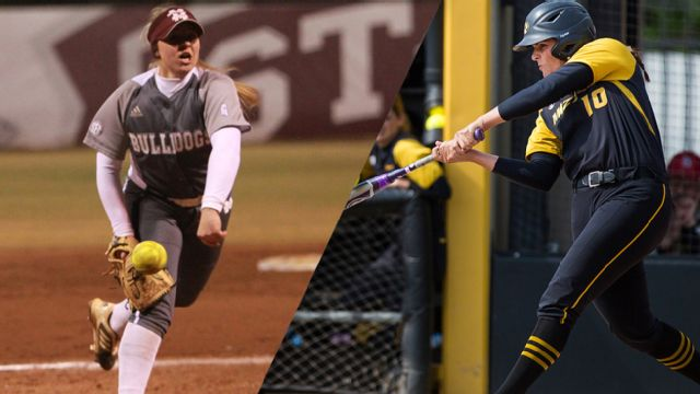Mississippi State vs. #13 Missouri (First Round) (SEC Softball Tournament)