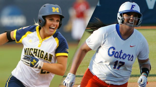 #3 Michigan vs. #1 Florida (WCWS Finals Game 3)