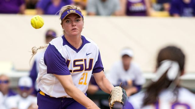 #5 LSU vs. #4 Auburn (Game #2) (Women's College World Series)