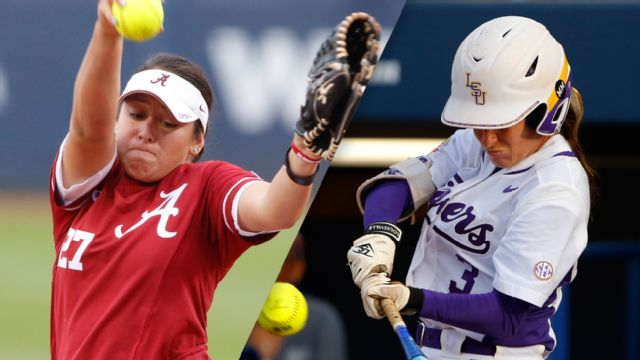 #6 Alabama vs. #5 LSU (Game #10) (Women's College World Series)