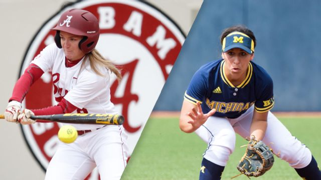#6 Alabama vs. #3 Michigan (Game #3) (Women's College World Series)