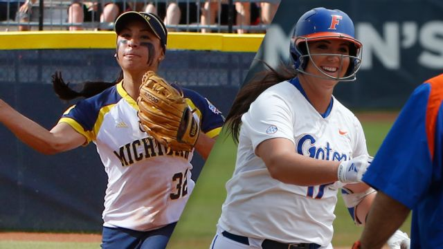 #3 Michigan vs. #1 Florida (WCWS Finals Game 1)