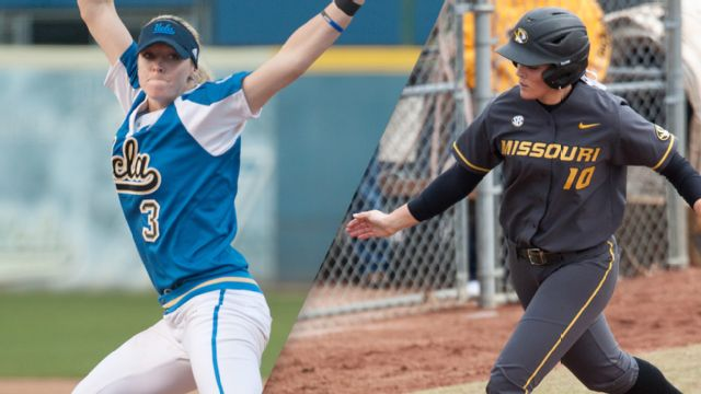 #7 UCLA vs. #10 Missouri (Site 7 / Game 2) (NCAA Softball Championship) (re-air)