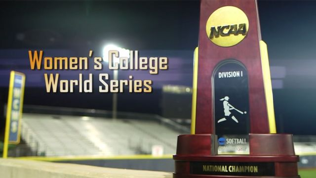 NCAA Women's College World Series Trophy Presentation