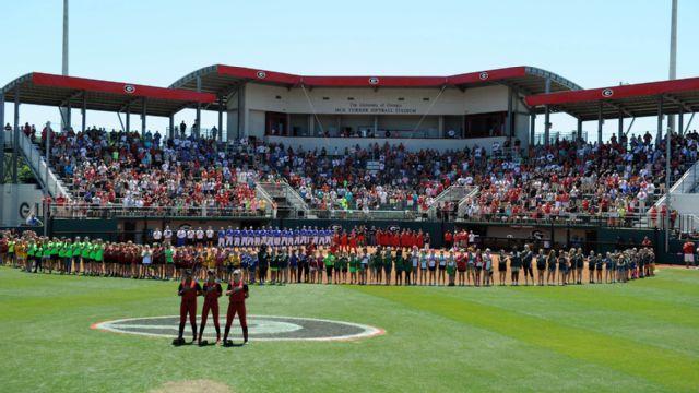 Winthrop vs. #14 Georgia (Softball)