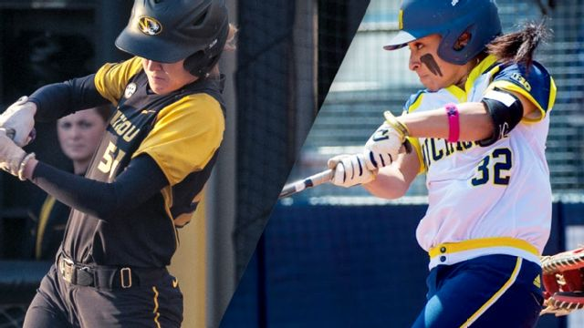 #15 Missouri vs. #2 Michigan (Site 6 / Game 1) (NCAA Softball Championship)