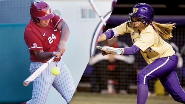 #6 Alabama vs. #11 Washington (Site 4 / Game 2) (NCAA Softball Championship)