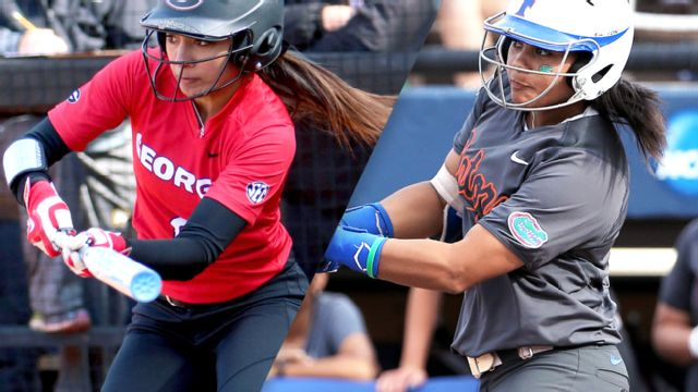 #16 Georgia vs. #1 Florida (Site 1 / Game 1) (NCAA Softball Championship)