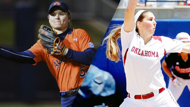 Auburn vs. Oklahoma (WCWS Finals Game 1) (re-air)