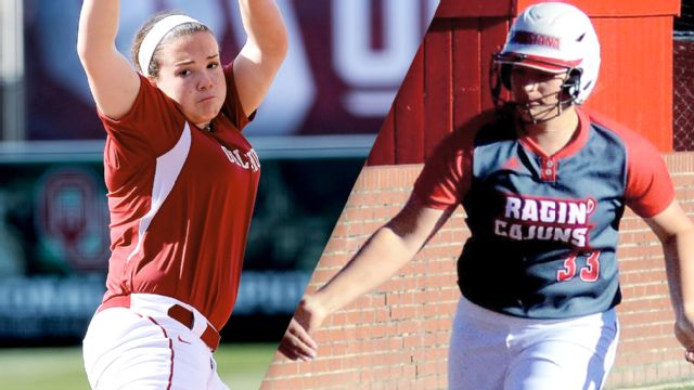 #3 Oklahoma vs. #14 LA-Lafayette (Site 2 / Game 2) (NCAA Softball Championship)