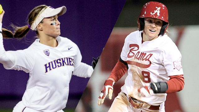 #11 Washington vs. #6 Alabama (Site 4 / Game 1) (NCAA Softball Championship)