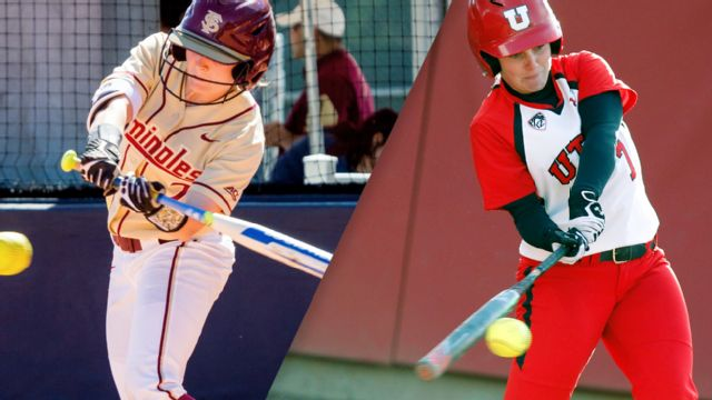 #8 Florida State vs. Utah (Site 5 / Game 2) (NCAA Softball Championship)