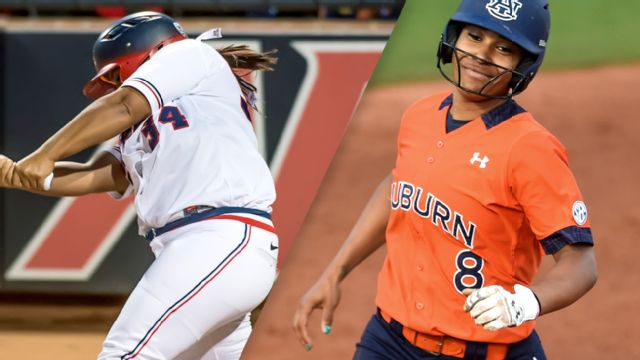 Arizona vs. #4 Auburn (Site 7 / Game 1) (NCAA Softball Championship)