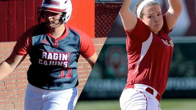 #14 LA-Lafayette vs. #3 Oklahoma (Site 2 / Game 1) (NCAA Softball Championship)