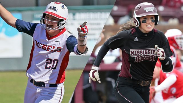 Ole Miss vs. Mississippi State (Softball) (re-air)