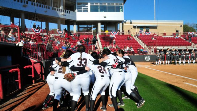 Georgia vs. South Carolina (Softball) (re-air)