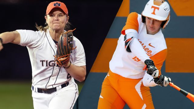 Auburn vs. Tennessee (Softball) (re-air)