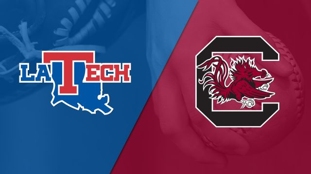 Louisiana Tech vs. South Carolina (Softball) (re-air)