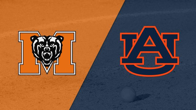 Mercer vs. #2 Auburn (Softball)