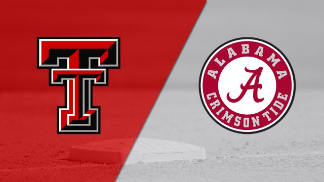 Texas Tech vs. #10 Alabama (Softball)