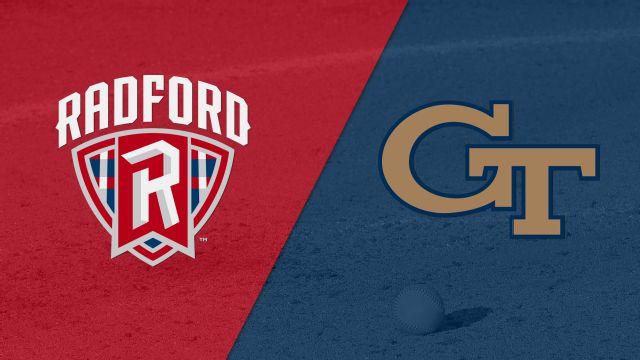 Radford vs. Georgia Tech (Softball)