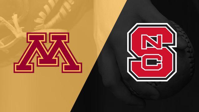 #13 Minnesota vs. NC State (Softball)