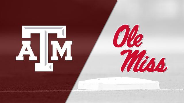 #7 Texas A&M vs. #24 Ole Miss (Softball)