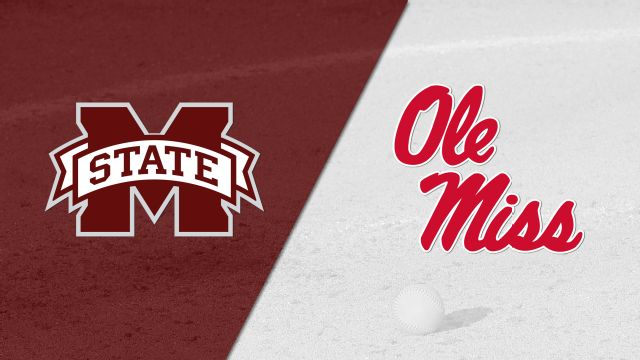 Mississippi State vs. Ole Miss (Softball)