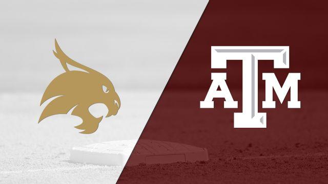 Texas State vs. #5 Texas A&M (Softball)