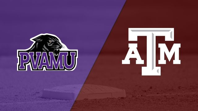 Prairie View A&M vs. #7 Texas A&M (Softball)