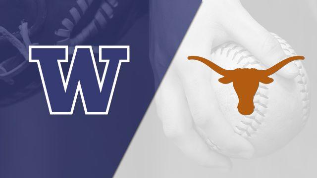 #3 Washington vs. Texas (Softball)