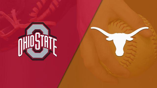 #21 Ohio State vs. Texas (Softball)