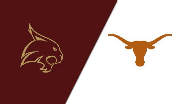 Texas State vs. Texas (Softball)