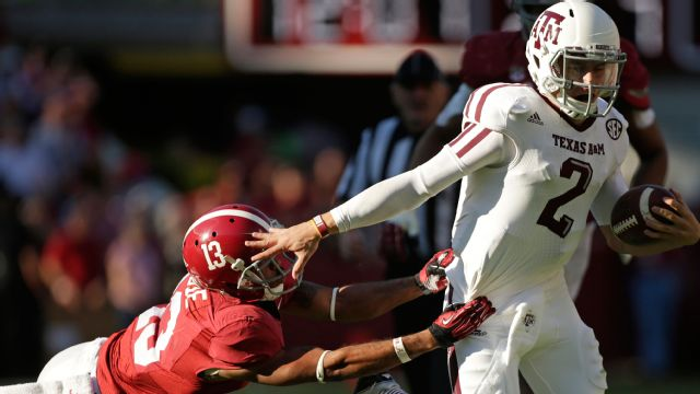 Texas A&M vs. Alabama -11/10/2012 (re-air)