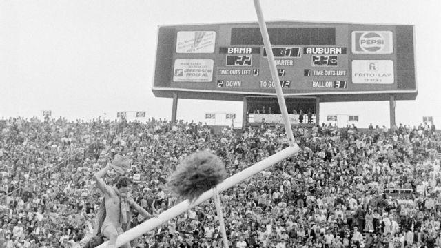 Auburn vs. Alabama - 11/27/1982