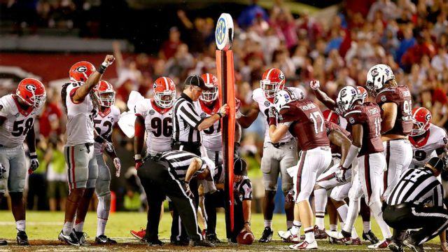 Georgia vs. South Carolina (Football) (re-air)