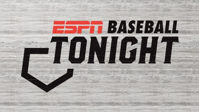 Baseball Tonight presented by Lexus