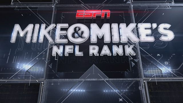 Mike And Mike's NFL Rank