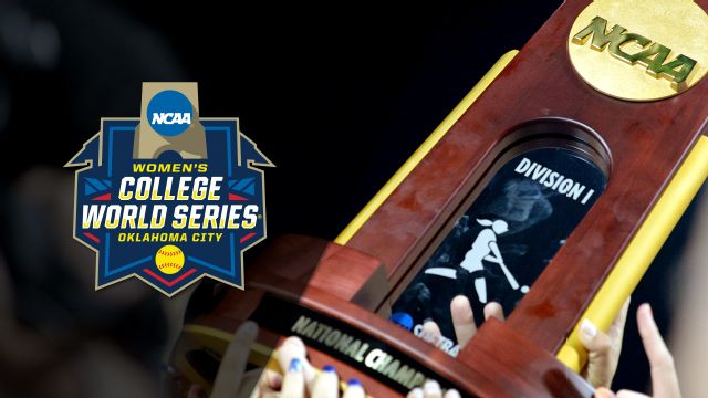 NCAA Women's College World Series presented by Capital One (Game #13)