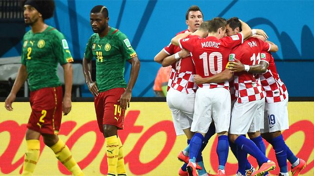 f6d4313b466 This are some of the best moment of 2014 FIFA World Cup™ - Cameroon vs  Croatia where Croatia won by four goal in this amazing