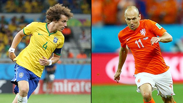 Brazil vs. Netherlands (3rd Place) (2014 FIFA World Cup) (re-air)