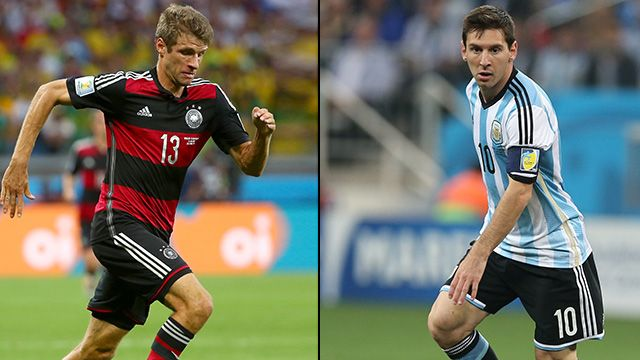 Germany vs. Argentina (2014 FIFA World Cup) (re-air)