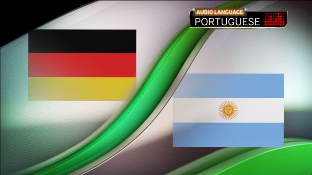 Portuguese Audio - Germany vs. Argentina (Final) (2014 FIFA World Cup)